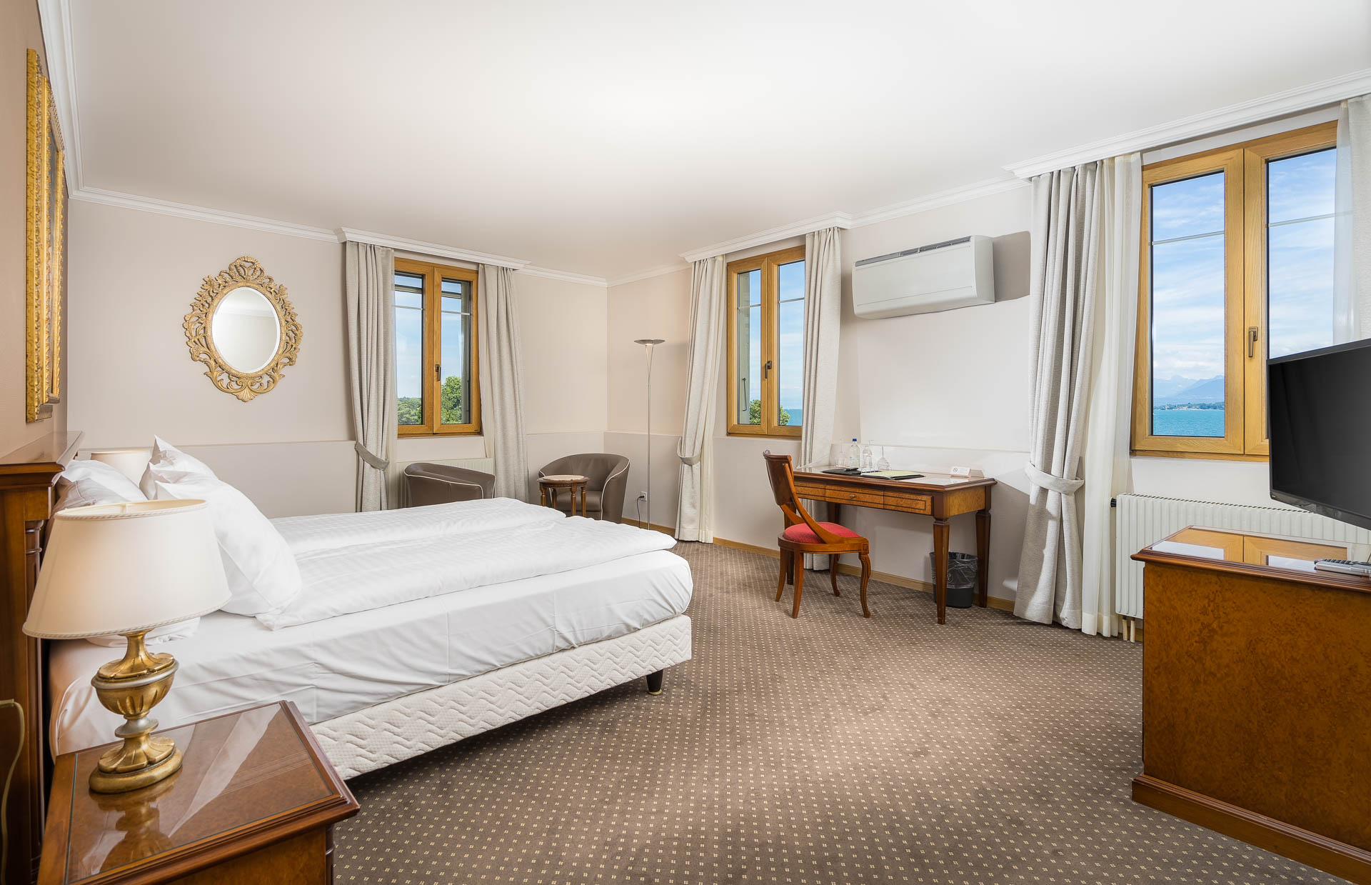 Hotel Le Rive Nyon chambre double