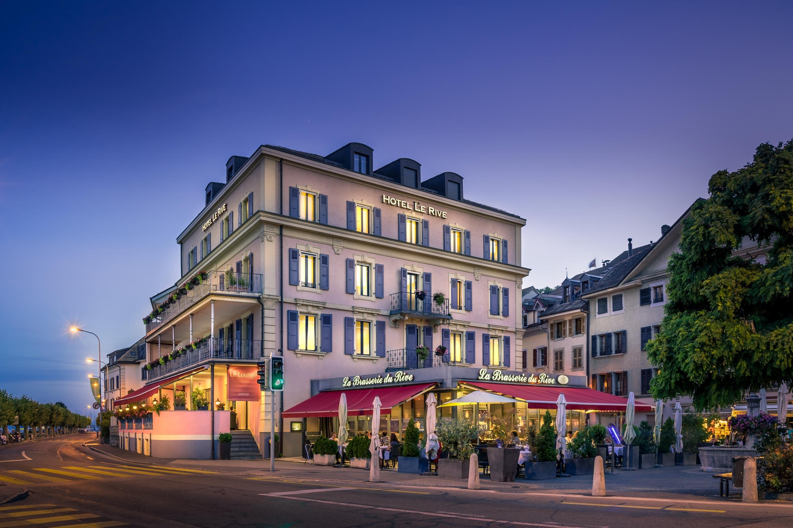 Hotel Le Rive Nyon Suisse
